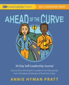 Ahead of the Curve Self-Leadership journal